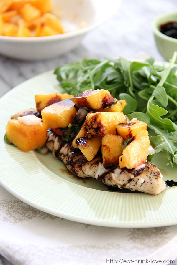Peach Bruschetta Chicken