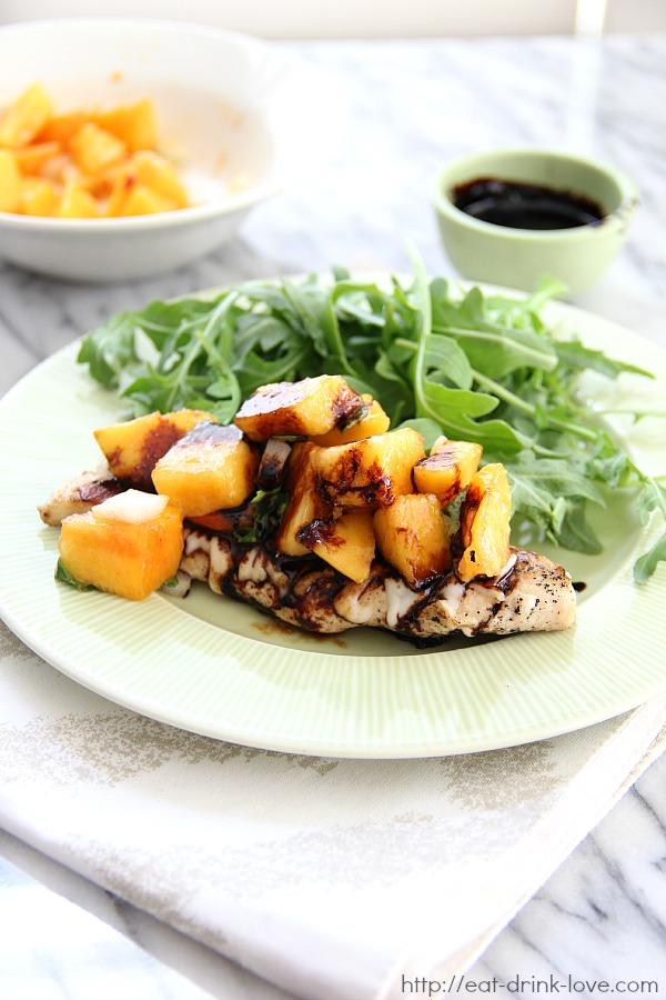 Peach Bruschetta Chicken
