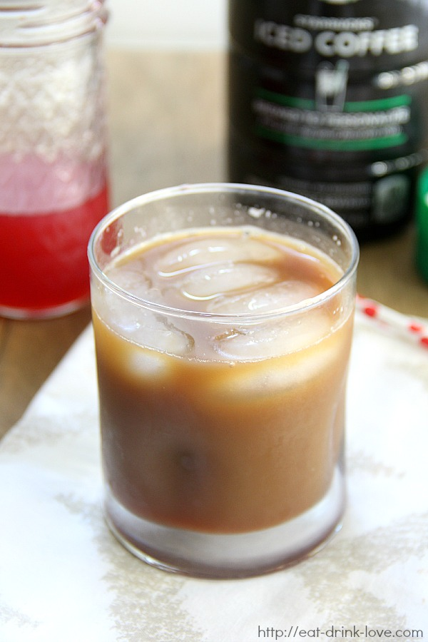 Iced Raspberry Coffee