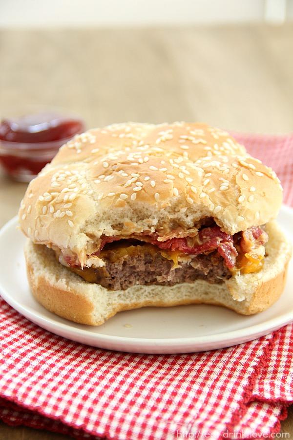 The Lip Smacker Burger