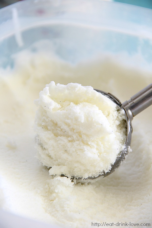 Vanilla Bean Frozen Yogurt