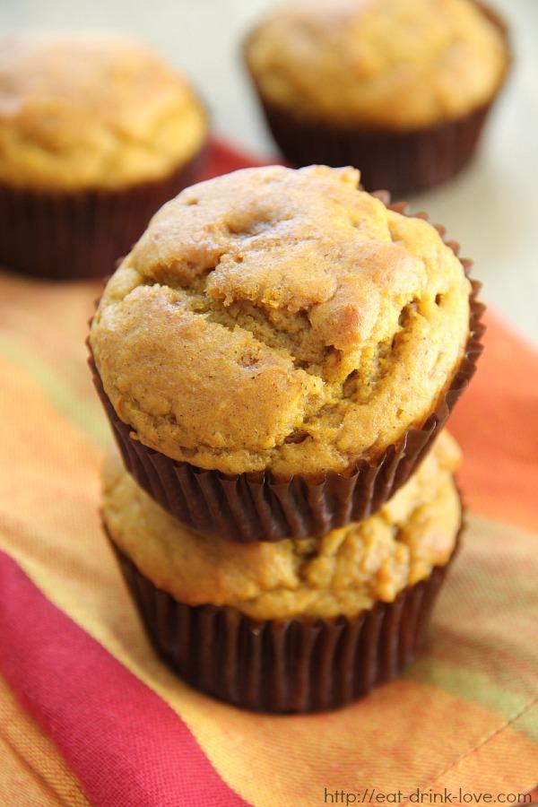 Easy Pumpkin Muffins - Eat. Drink. Love.