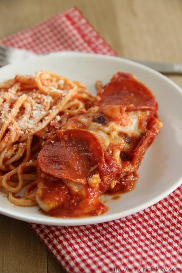 Chicken Pepperoni-Marinara