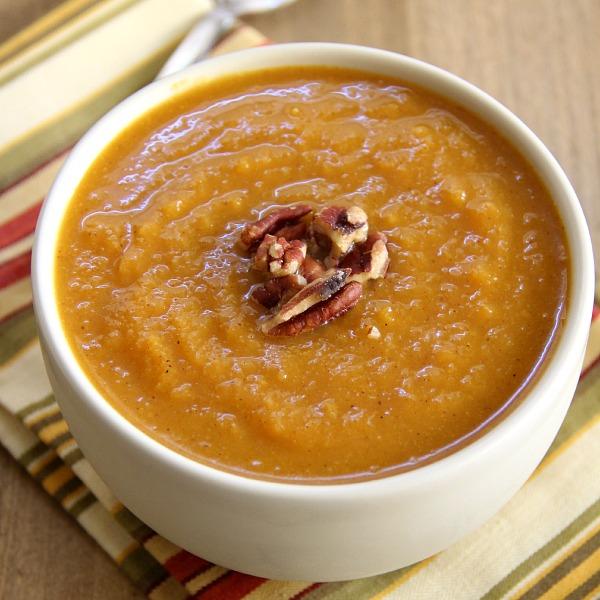 Pumpkin Butternut Squash Soup