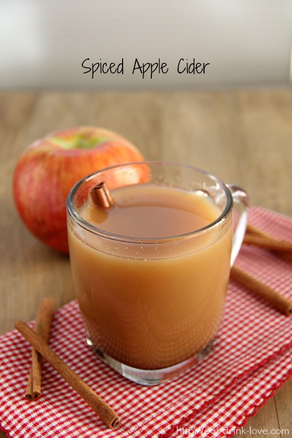 Eat. Drink. Love. Spiced Apple Cider - Eat. Drink. Love.