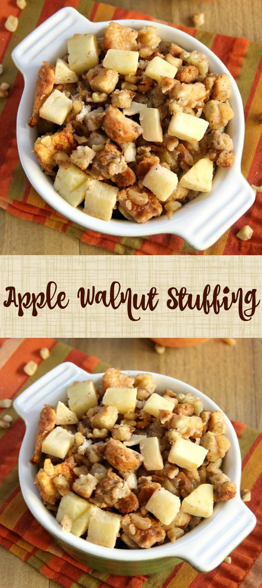 Apple Walnut Stuffing