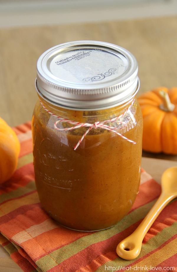 Eat. Drink. Love. Homemade Pumpkin Butter - Eat. Drink. Love.