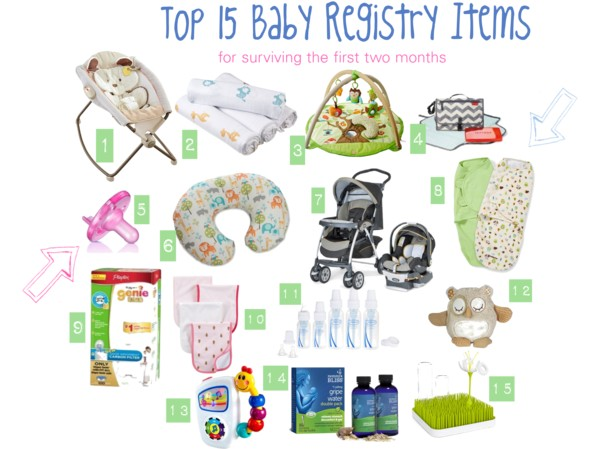 Top 15 Baby Registry Items (plus other Baby Essentials) - Eat. Drink. Love.