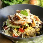 Honey Lime Chicken Burrito Bowls