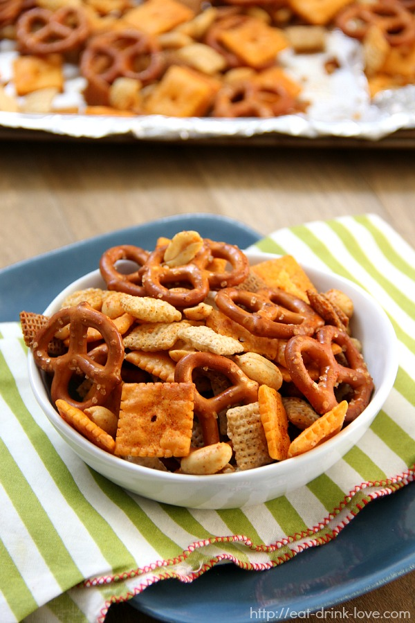 Spicy Chex Mix