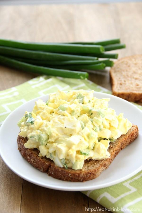 Easy Egg Salad - Eat. Drink. Love.