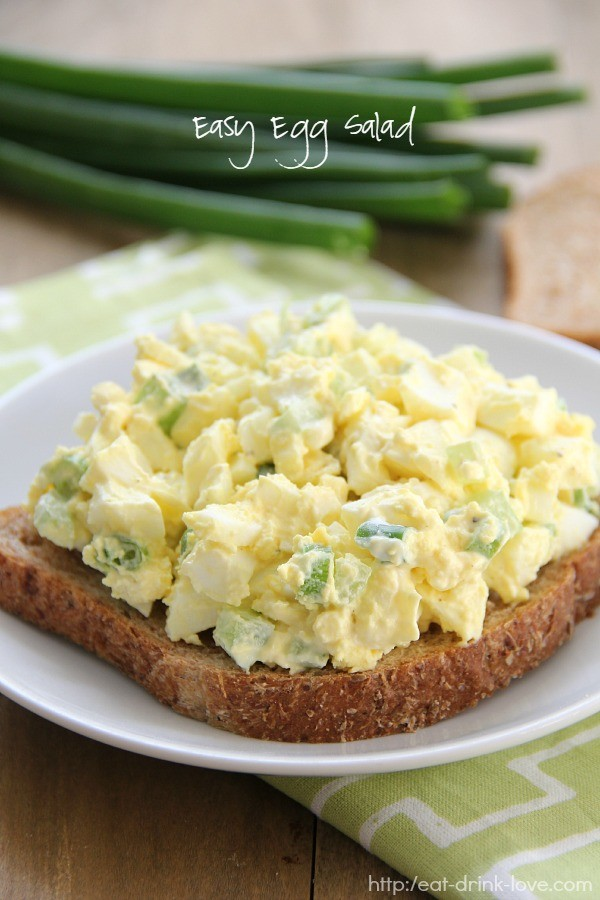 Easy Egg Salad For Easter Egg Overload Recipes — Dishmaps