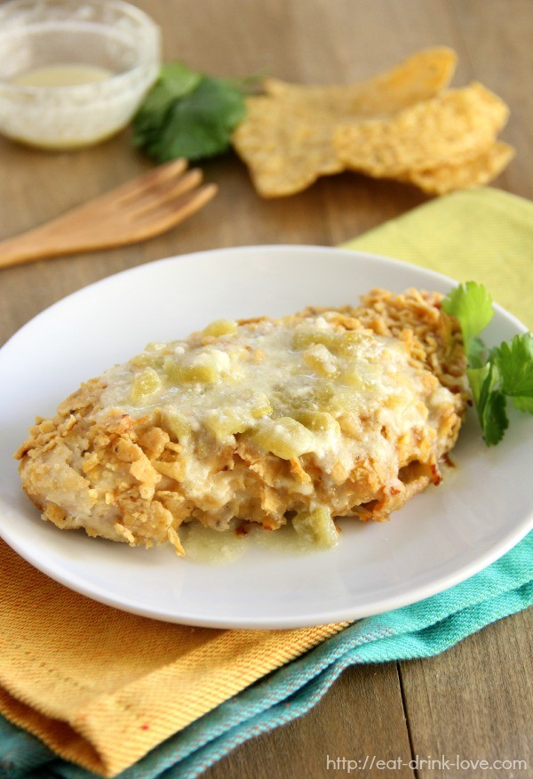 Tortilla-Crusted Chicken
