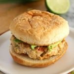 Chili Lime Chicken Burgers