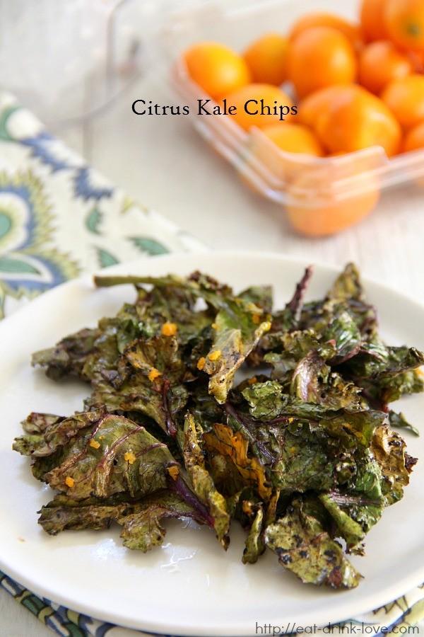 Citrus Kale Chips