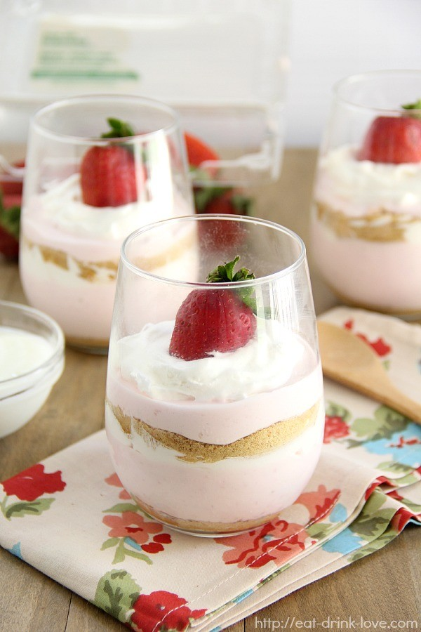 Strawberry Margarita Parfaits Recipes — Dishmaps