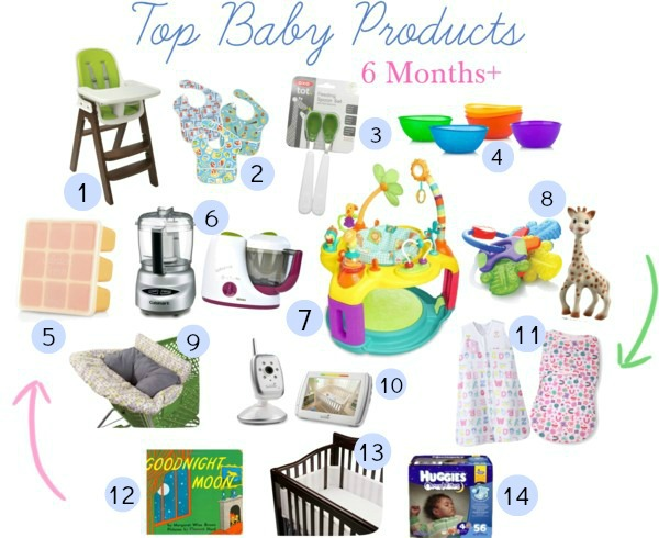 Baby Must Haves 6 Months Eat Drink Love