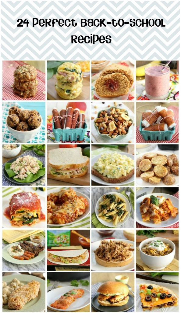 24 Perfect Back-to-School Recipes