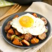 Sweet Potato & Chicken Sausage Hash