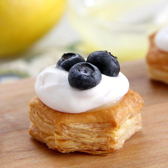 Lemon Pastry Cups