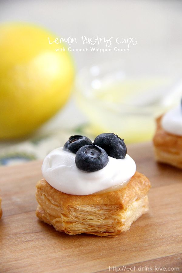 Lemon Pastry Cups