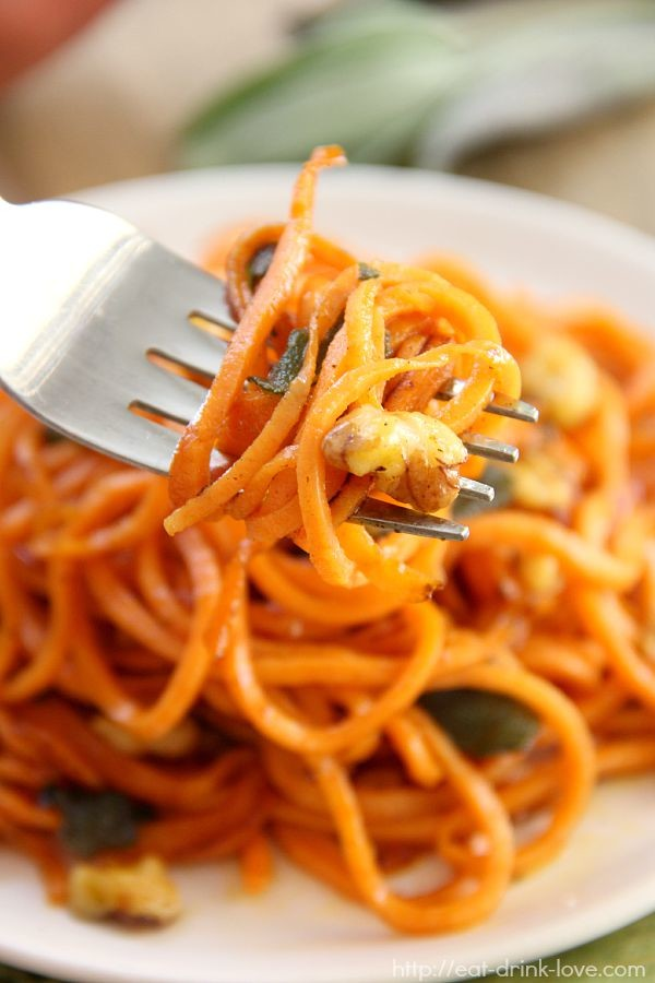 Brown Butter Sweet Potato Noodles