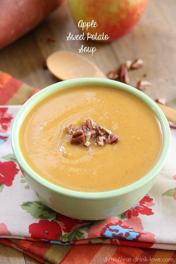 Apple Sweet Potato Soup