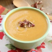 Apple Sweet Potato Soup