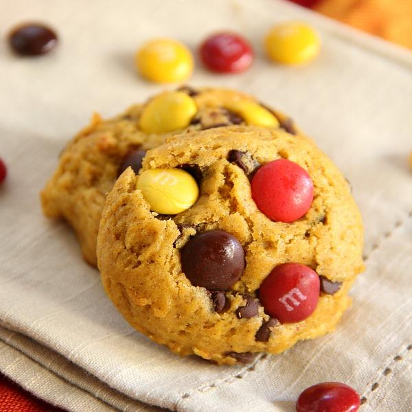 Chocolate Chip Pumpkin Cookies - Eat. Drink. Love.