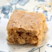 Peanut Butter Banana Snack Bars