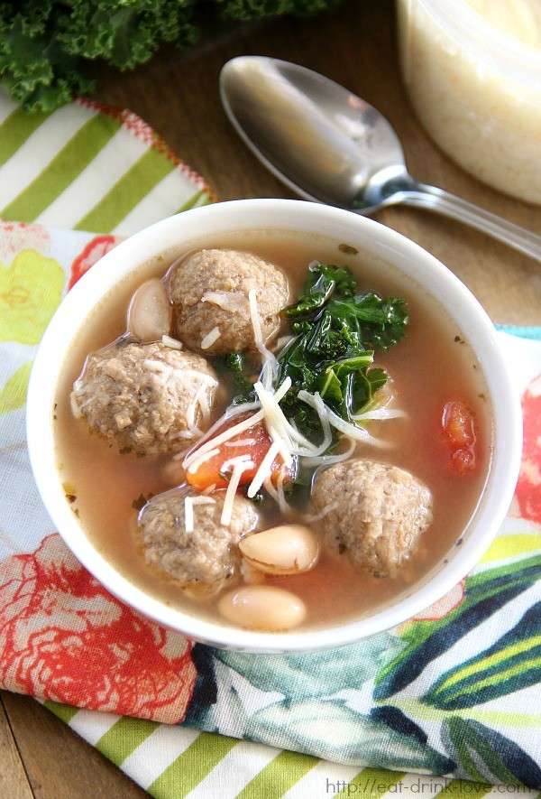 Tuscan Meatball Soup