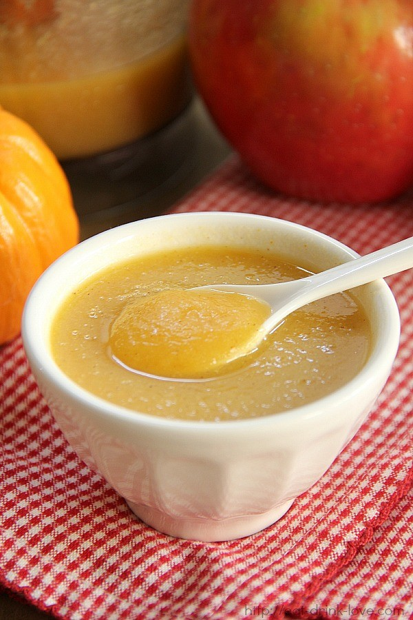 Pumpkin Pear Applesauce