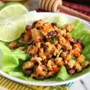 Honey Chipotle Chicken Lettuce Wraps