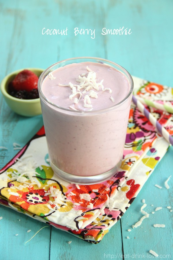 Berry Coconut Smoothie