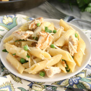 One-Pot Lemon Chicken Pasta