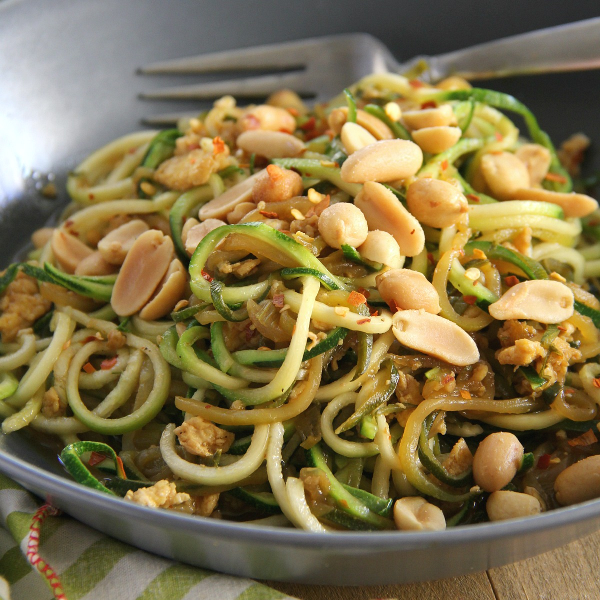 Zucchini Pad Thai - Eat. Drink. Love.