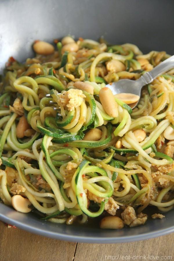 Zucchini Pad Thai