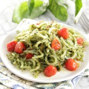 Pesto Potato Noodles