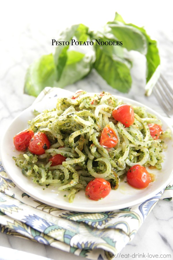 Pesto Potato Noodles