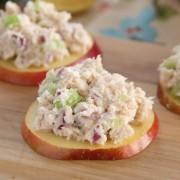 Apple Tuna Bites