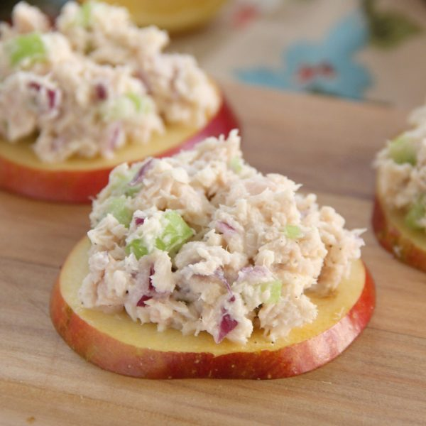 Apple Tuna Bites