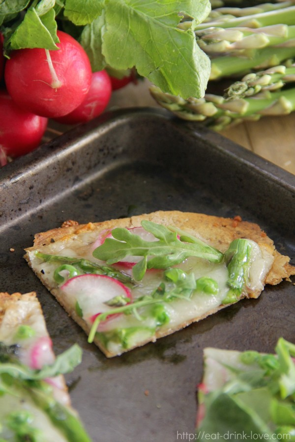 Spring Vegetable Flatbread
