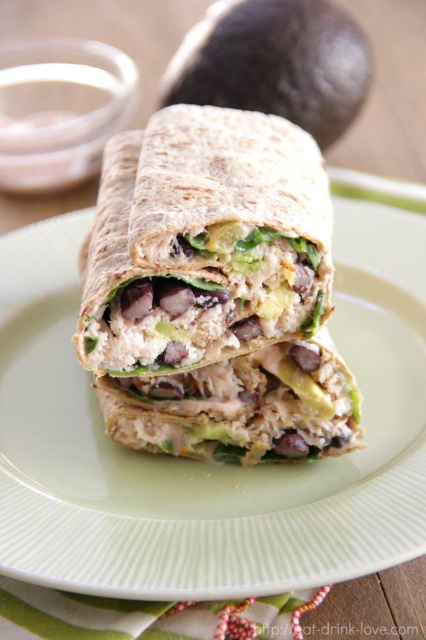 Southwestern Turkey Wrap