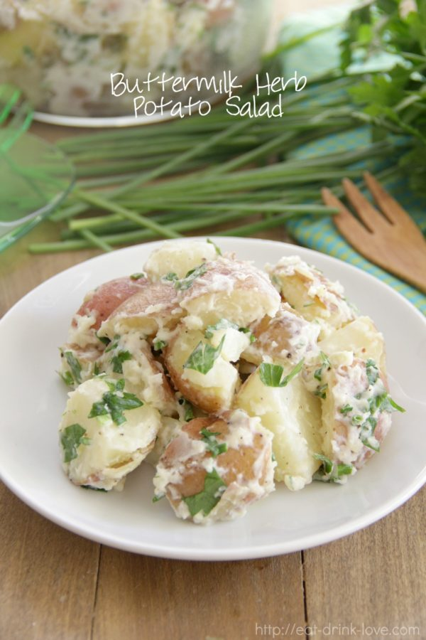Buttermilk Herb Potato Salad