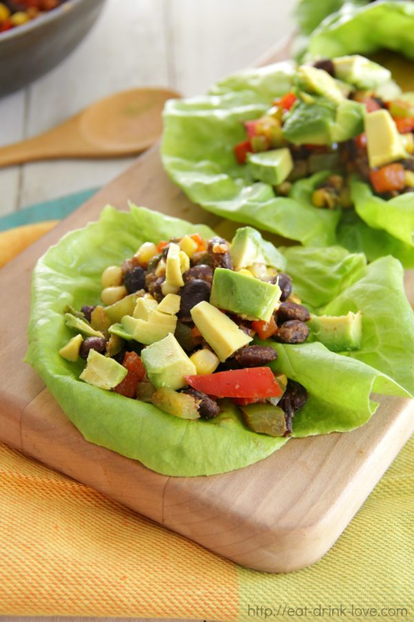 Vegetable Lettuce Wraps, Veggie, Vegetarian