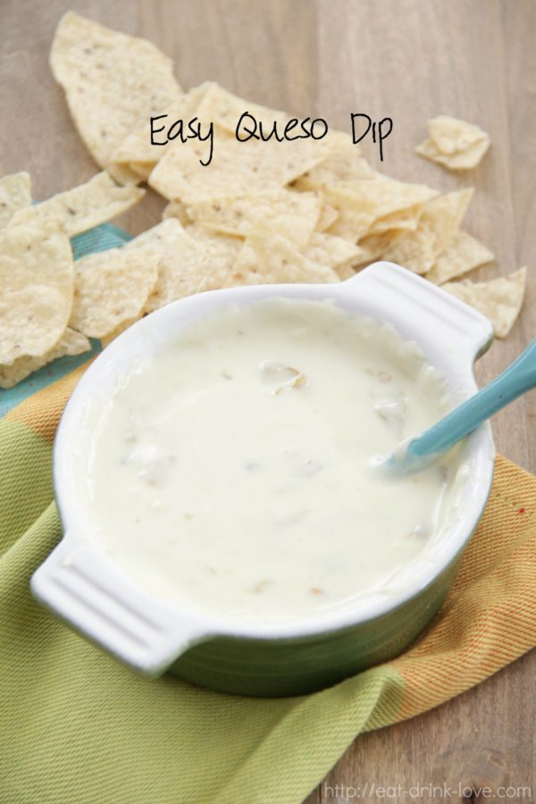 Easy Queso Dip - Eat. Drink. Love.