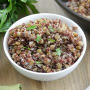 Lentil Quinoa Pilaf