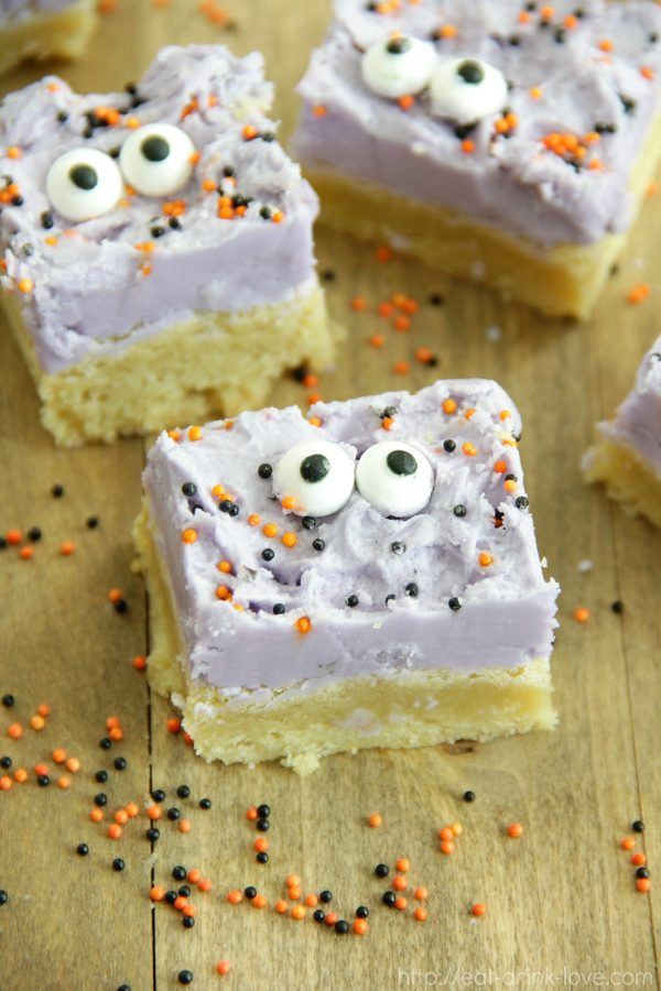 Monster Sugar Cookie Bars