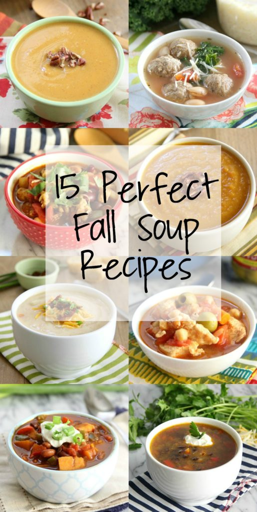 15 Perfect Fall Soup Recipes