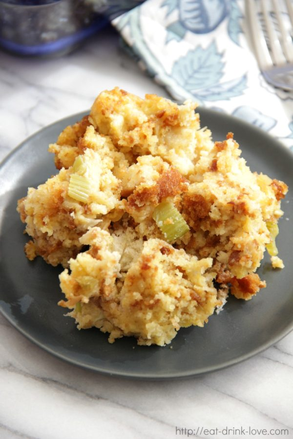 Easy Cornbread Stuffing